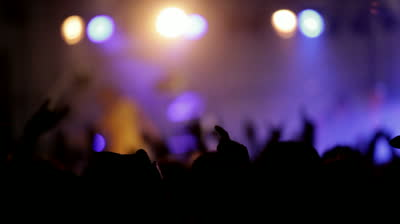 stock-footage-footage-of-a-crowd-partying-at-a-rock-concert