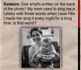 Dawson and mom comment