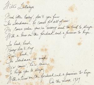 Lullaby lyrics